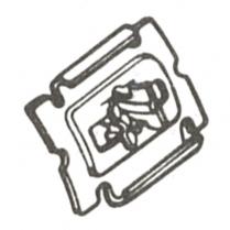 Lower Quarter Molding Clip