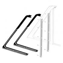 Vent Window Rubber Seals - Falcon - Hardtop & Convertible