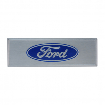 Scuff Plate Name Plate - Blue - 1968-77 Ford Bronco, 1960-79 Ford Car