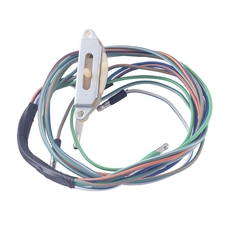 [DVZP_7254]   Turn Signal Switch Wiring Only - 1961-62 Ford Truck, 1960-63 Ford Car -  Product Details Dennis Carpenter Ford Restoration Parts for Trucks,  Broncos, Cars, Tractors and Cushman Scooters   Ford Turn Signal Switch Wiring      Dennis Carpenter