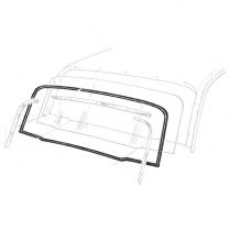 Back Glass Seal - Galaxie & Galaxie 500 2 & 4 Door Sedans & Hardtop