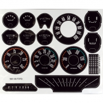 Instrument Cluster Decal Set
