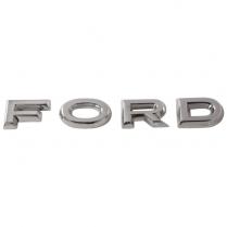 Hood Letter - 1962-63 Ford Car