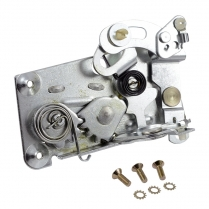 Door Latch Assembly - Left - 1962-65 Ford Car, 1966-67 Ford Bronco
