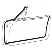 Door Seal Kit - Galaxie - Hardtop