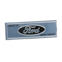 Door Scuff Plate Name Plate