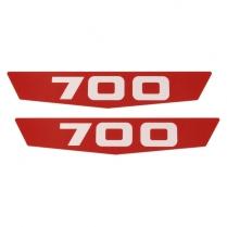 700-Plastic Insert For Side of Hood