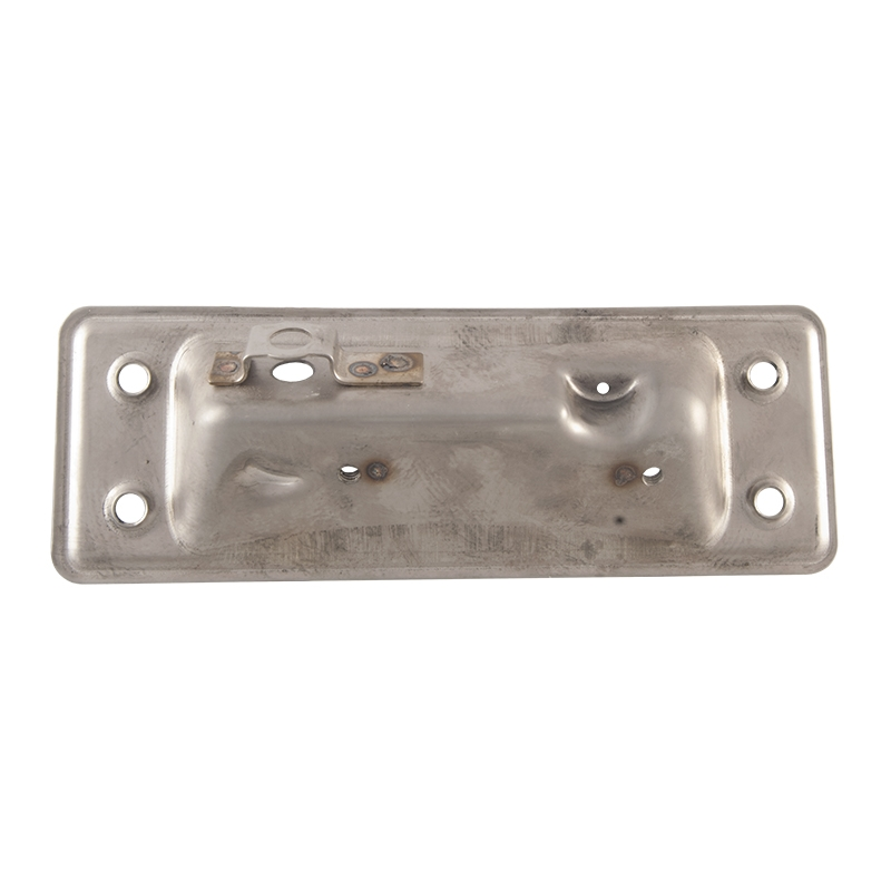 Tailgate Latch Release Handle Mounting Plate | Stainless Steel - 1964-72 Ford Truck, 1966-77 Ford Bronco