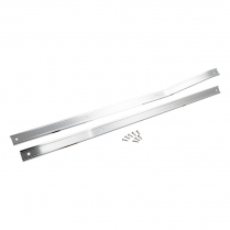 Door Scuff Plates - Pickup - Pair - 1965-66 Ford Truck