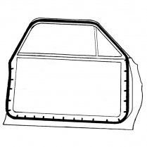 Door Seal Kit - Falcon & Fairlane - 2 Door Sedan