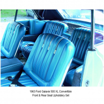 Seat Upholstery | Front and Rear Sets - 1962-68 Ford Galaxie Car