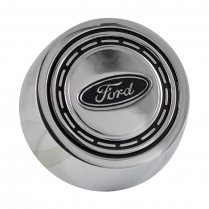 Horn Button - Chrome - 1966-73 Ford Bronco