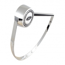 Horn Ring - Chrome - 1966-73 Ford Bronco