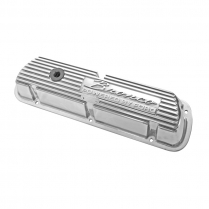 Valve Cover with Bronco Script - Polished Aluminum - 1966-85 Ford Bronco