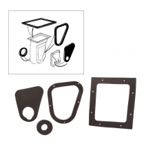 Air Vent Inlet Duct Seal Kit - 1966-77 Ford Bronco