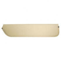 Sun Visor In White - 1966-77 Ford Bronco
