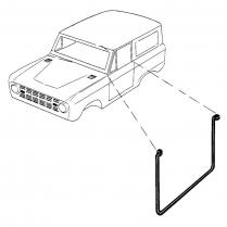 Lower Door Seal - Economy Version - 1966-77 Ford Bronco