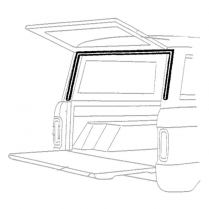 Lift Gate Upper Seal - 1966-68 Ford Bronco