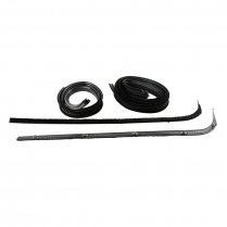 Door Glass Anti-Rattler Kit - with Stainless Bead