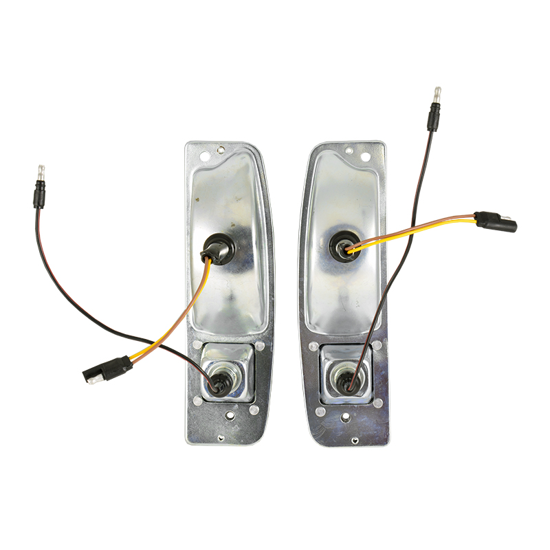 Taillight Housings Kit - 1967-72 Ford Truck, 1967-77 Ford Bronco