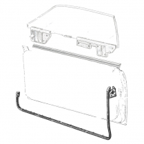 Door Seal Kit - Fairlane - Hardtop, Covertible & Ranchero