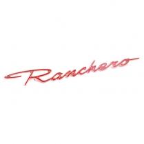 Ranchero Script On Quarter Panel