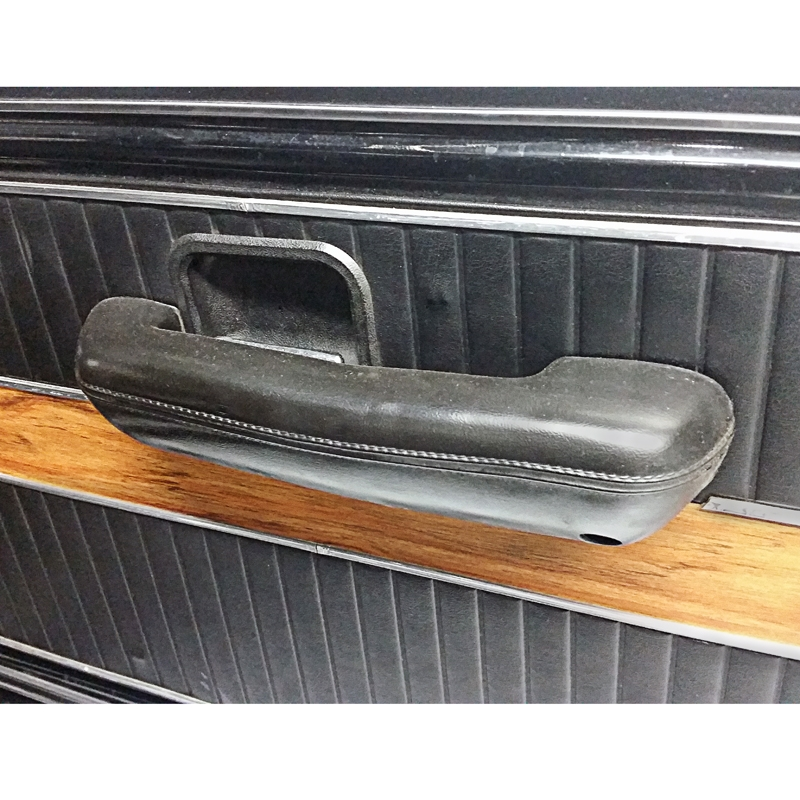 Door Arm Rest Black - 1968-72 Ford Truck, 1968-77 Ford Bronco