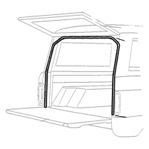 Lift Gate Upper, Side & Tailgate Side Seal - 1969-77 Ford Bronco
