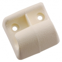 Sunvisor Anchor Pin Clip - White