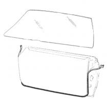 Door Seal Kit - Galaxie - Hardtop & Convertible