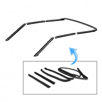 Weather Stripping Kit for Convertible Top | 1969-72 Ford Galaxie