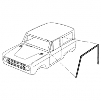 Roof Rail Seals - Bronco