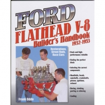Book - Ford Flathead V8 Builder's Handbook - 1932-53 Ford Truck, 1932-53 Ford Car