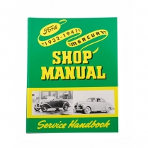 Book - Shop Manual - 1932-41 Ford Truck, 1932-41 Ford Car