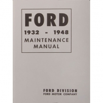 Book - Maintenance Manual - 1932-47 Ford Truck, 1932-48 Ford Car