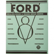 Book - Mechanics Repair Manual - 1932-36 Ford Truck, 1932-36 Ford Car