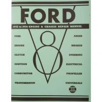 Book - Mechanics Repair Manual - 1932-36 Ford Truck, 1932-36 Ford Car