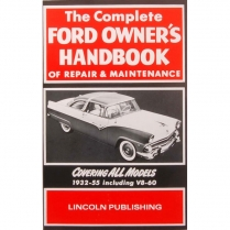 Book - Owners Handbook - 1932-55 Ford Car