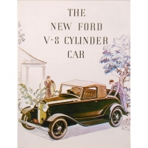 Sales Brochure - 1932 Ford Truck, 1932 Ford Car