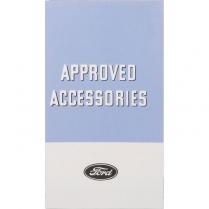 Accessory Folder - 1934 Ford Car