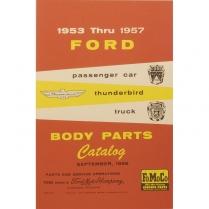 Book - Body Parts Manual - 1953-57 Ford Car