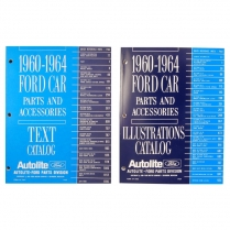 Book - Chassis Parts & Accessories Book - 1960-64 Ford Car