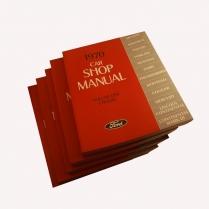 Book Manual - Shop Manual - 1970 Ford Car