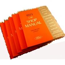 Book Manual - Shop Manual - 1971 Ford Car