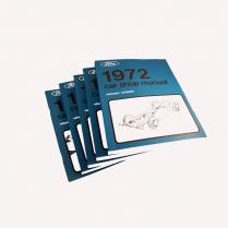 Book - Shop Manual - 1972 Ford Car