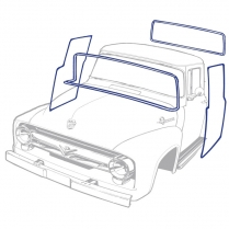 Cab Weather Stripping Kit