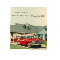 Sale Brochure - Edsel Wagon - 1959 Ford Car