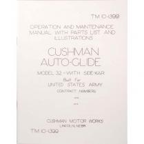 Autoglide Operator & Maintenance Manual - 1942-45 Cushman Scooter