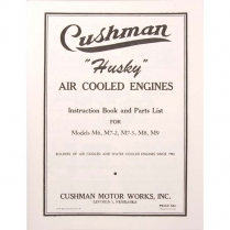 Husky Industrial Engine Instruction Book - 1944-49 Cushman Scooter