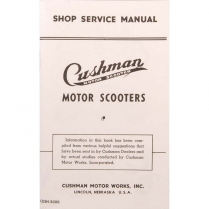 Shop Manual - 50 Series - 1946-48 Cushman Scooter